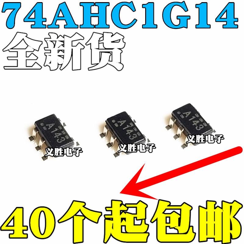 new SN74AHC1G14DBVR SOT23-5 Silk screen:A14G A14L A143 A14S