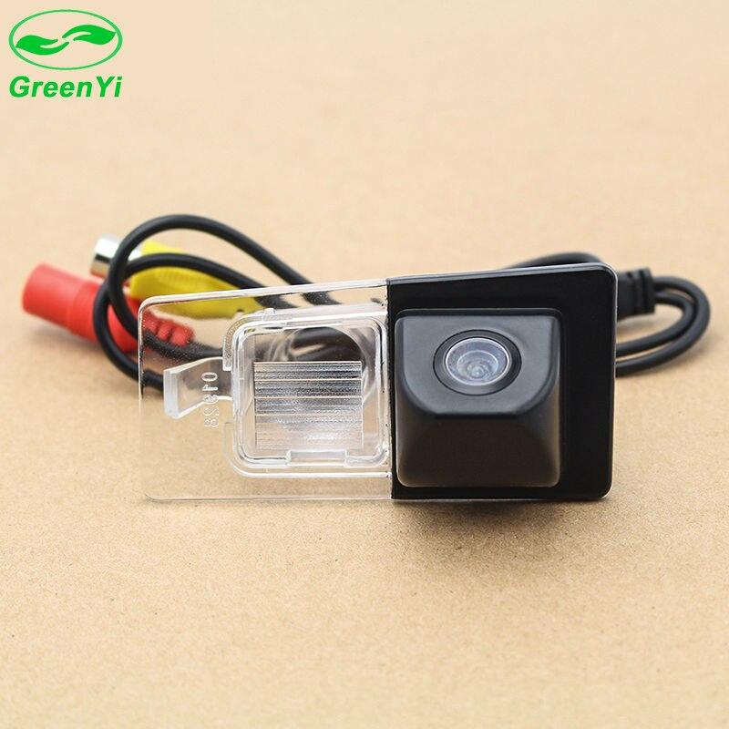 imágenes para Greenyi sony ccd hd coche cámara trasera de aparcamiento para kia ceed versión europea asiático elantra 2011 ip67 a prueba de agua