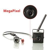Super Mini WIFI IP Box Camera With Smallest 1.0MP Home Security Cam & Max 720P Video & ONVIF Compatiable for Network Recording