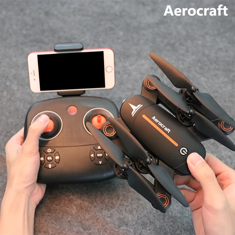 RC Dron Visuo F16 Mini Foldable Selfie Drone with Wifi FPV 0.3MP Camera Altitude Hold Quadcopter rc helicopter