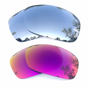 Silver Mirrored & Midnight Sun Mirrored Polarized Replacement Lenses for Hijinx Frame 100% UVA & UVB