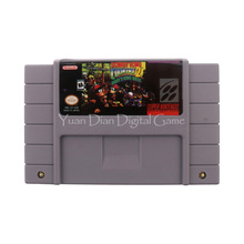Nintendo SFC/SNES Video Game Cartridge Console Card Donkey Kong Country 2 Diddy's Kong Quest USA English Language Version(China)