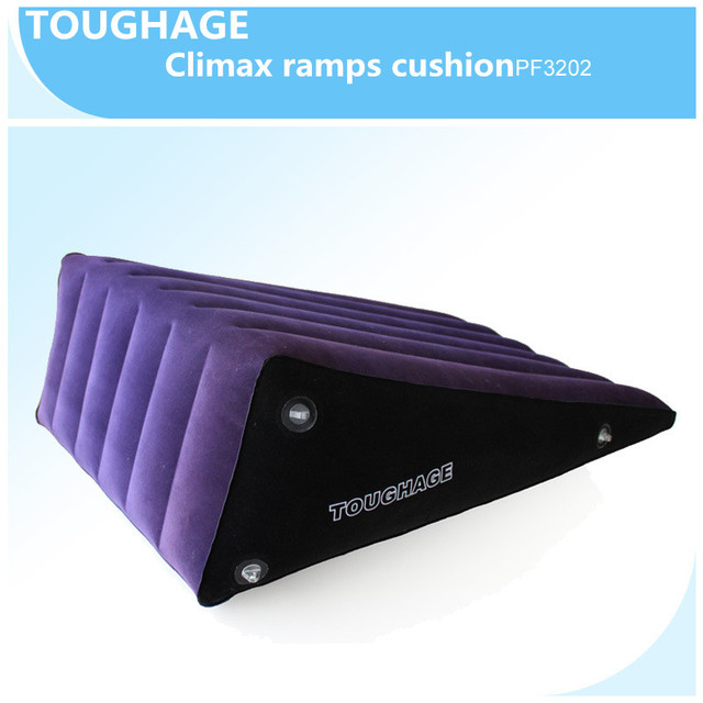 High quality Nylon toughage Climax ramps cushion Inflatable sex love cushion bed sexy toys machine adult sex toys for couples