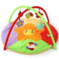 New Soft Play Mat Game Blanket Pad Kids Play Tapaete Fitness Frame Educational Baby Toys Climb