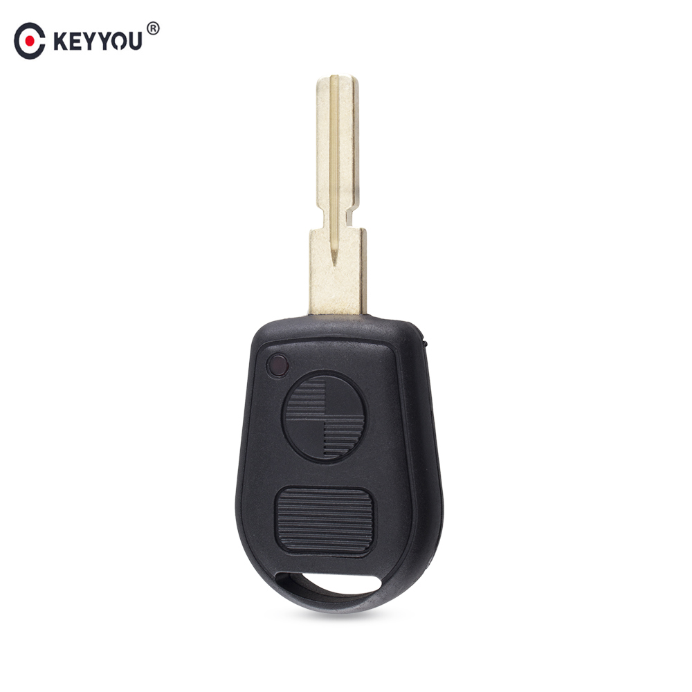 KEYYOU Remote 2 Buttton Key Case Cover For BMW E31 E32 E34 E36 E38 E39 E46 Z3 Replacement Car Key ShellKEYYOU Remote 2 Buttton Key Case Cover For BMW E31 E32 E34 E36 E38 E39 E46 Z3 Replacement Car Key Shell