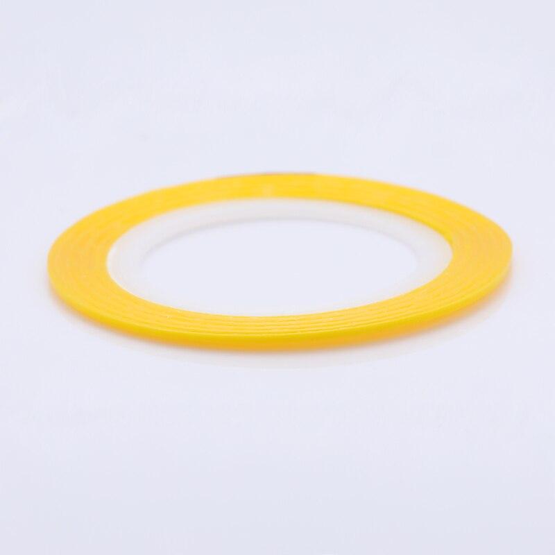 2 мм матовый блеск для ногтей, Чередование ленты линия разноцветные, для ногтей инструмент для укладки волос Стикеры наклейка DIY украшения для ногтей - Цвет: 18