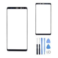 Outer Glass Panel For Samsung Galaxy Note 8 N950 N950F Front LCD Screen Outer Glass Lens Replacement Part + Free Repair Tools