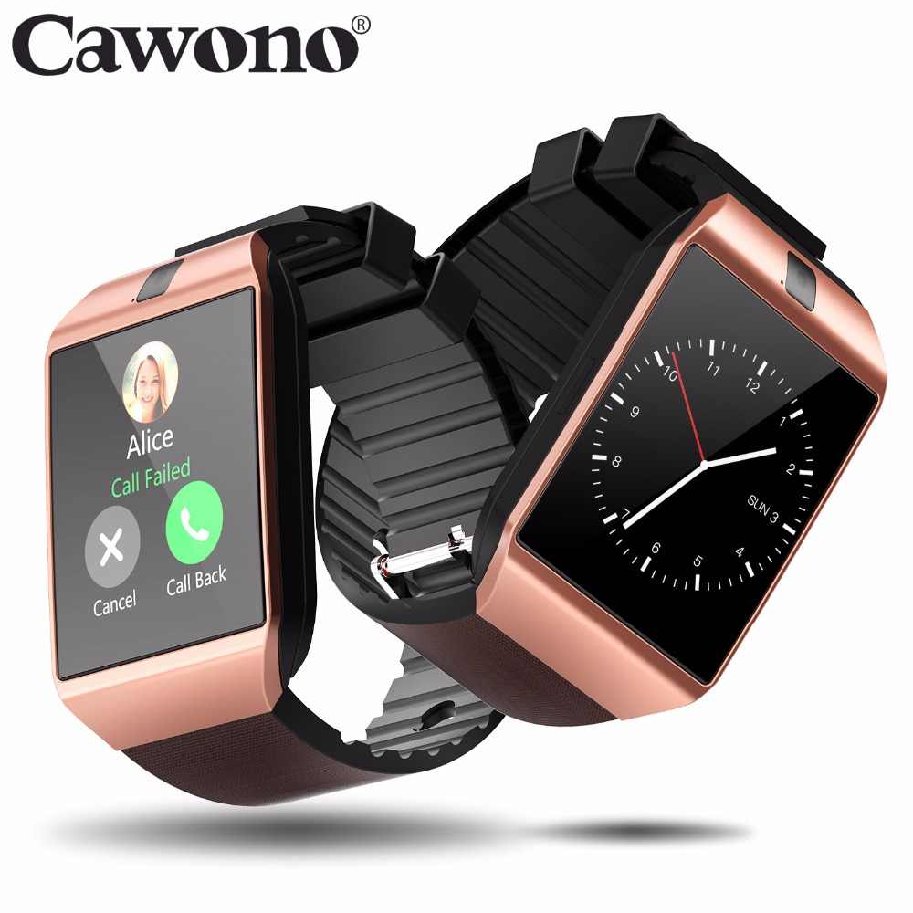 Cawono Bluetooth DZ09 חכם שעון Relogio אנדרואיד Smartwatch שיחת טלפון ה-SIM TF מצלמה עבור IOS iPhone סמסונג HUAWEI VS Y1 q18