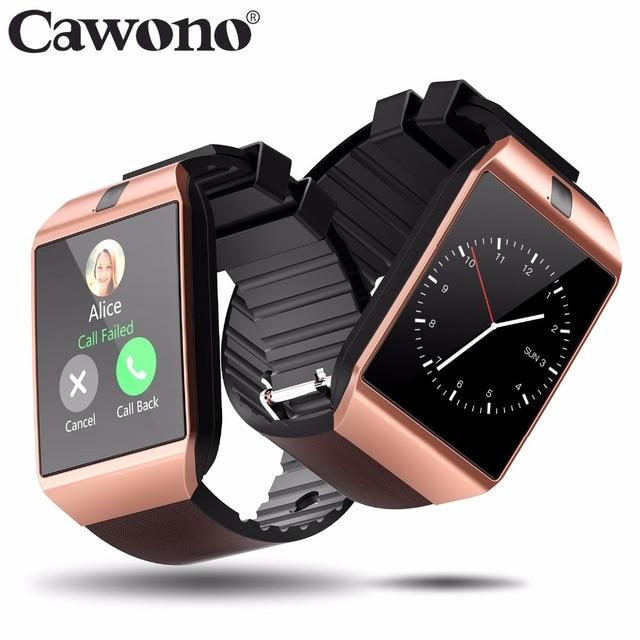 98d33fe4a5a Cawono Relogio Bluetooth Smartwatch DZ09 Relogio Inteligente relogios smart  watch smart watch a prova d   água Relogio Android ...