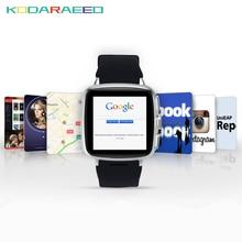 Z01 metel 3G smartwatch relógio Inteligente Android 4.4 1G RAM 8G ROM 5MP câmera monitor de freqüência cardíaca Pedômetro WIFI GPS reloj inteligente