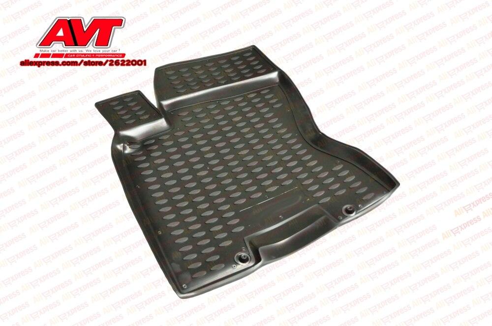 Tapis de sol pour Nissan X-trail T31 2007-2010, 2011-2015 4 pcs en caoutchouc tapis antidérapant en caoutchouc intérieur car styling accessoires