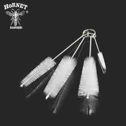 4 sztuk/zestaw nylonowa szczotka do czyszczenia ze stali nierdzewnej dla Shisha szisza Sheecha/Chicha/Narguile akcesoria|Fajki wodne i akcesoria|Dom i ogród -