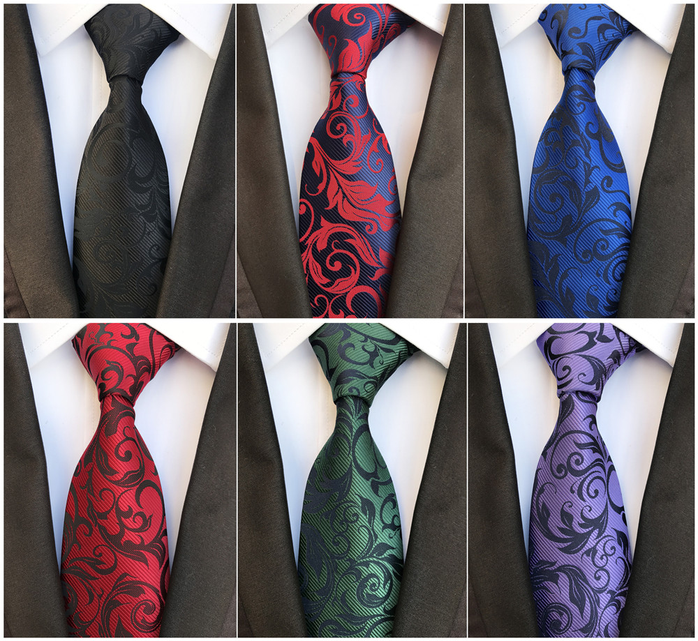 Polyester Jacquard 8 Cm Clothing Business Tie 2018 Fashion Explosion Men's Business Meeting Is Assembling Accessories Tie