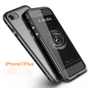 Image 5 - For Apple iPhone 7 Case aluminio Metal Clear backplane Luxury Armor phone Case Aluminum Frame Cover for iPhone 7 Plus Shockproof