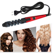 Professional Hair Curler Roller Magic Spiral Curling Iron Fast Heating Curling Wand Electric Hair Styler Pro Styling Tool(China)