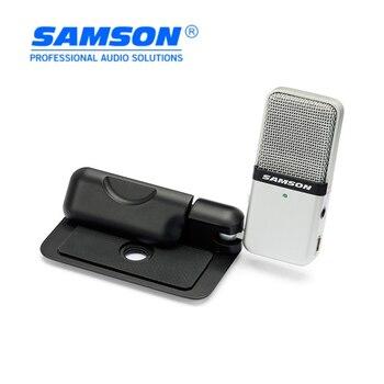 Originale SAMSON Go Mic portatile Compatto USB microfono a condensatore di registrazione microfono per computer & notebook play, con la scatola al minuto