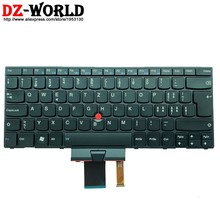 Новая Оригинальная швейцарская клавиатура CH Swiss с подсветкой для Lenovo Thinkpad X1 1293 1294 Backight Teclado 04W2784 0B35740