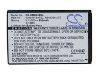 Cameron Sino 850mAh Battery AB463651GZ For Samsung Verizon SCH U450 SCH U460 SCH U960