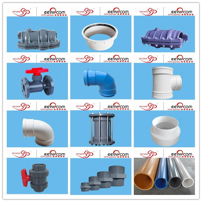 Top quality inch pvc pipe fitting degree equal