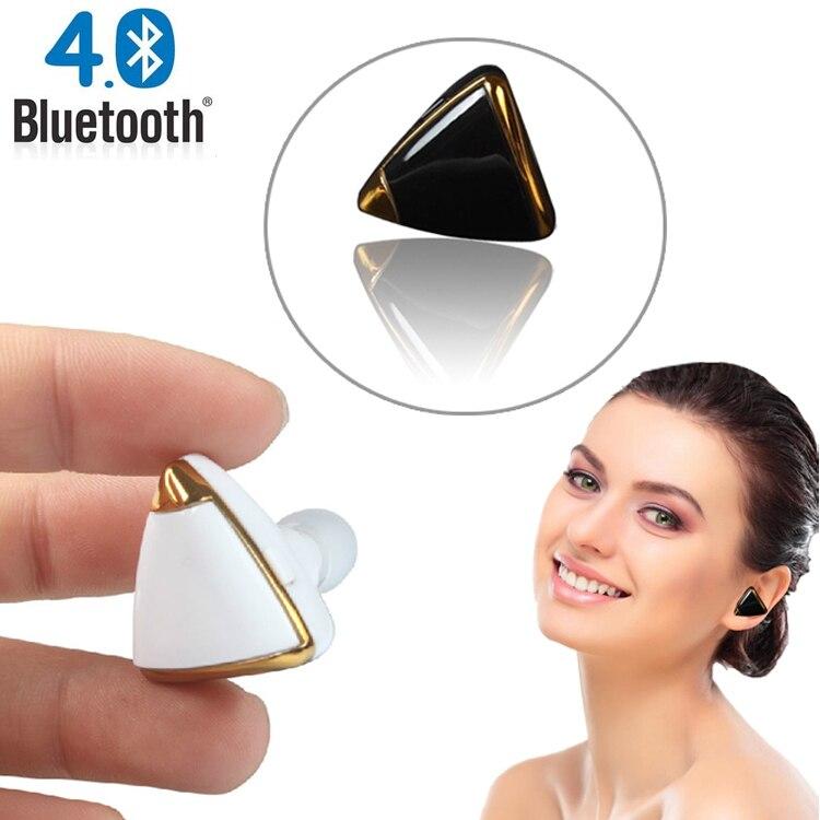 Fashion Earring Design Stereo Bluetooth Earphone Mini Wireless V4.1 Handfree Universal for all phone