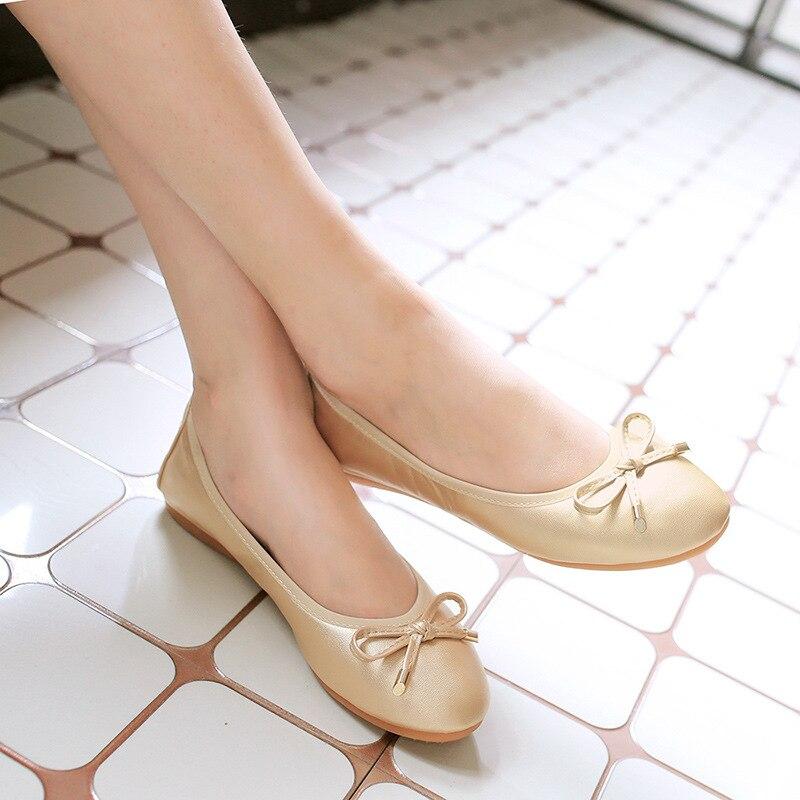 ZHENG PIN JIA REN Rouleau Chaussures B1 Nouvelle Mise À Niveau résistant à l'usure Chaussures de Femmes Ronde Douce Arc Doux Enceinte femmes Chaussures
