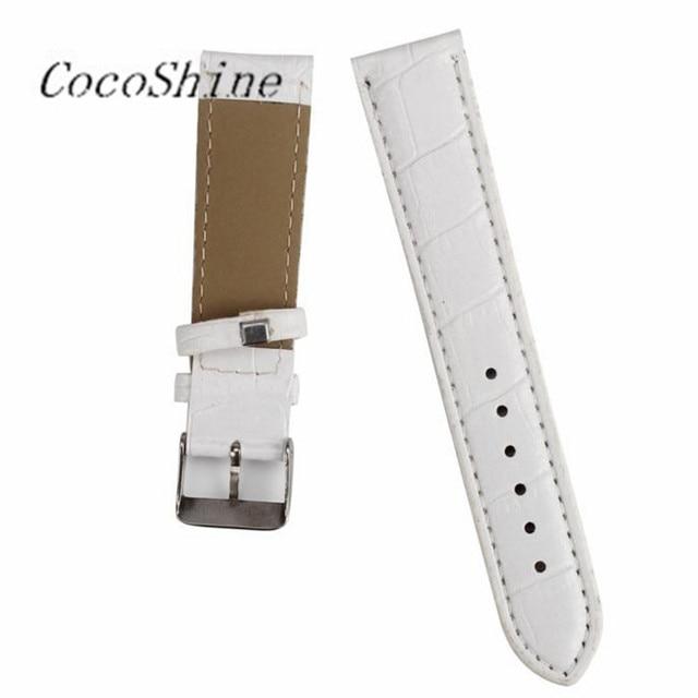 CocoShine A-898 20mm Mode Man Vrouwen Lederen Band Horlogeband Horloge Band groothandel