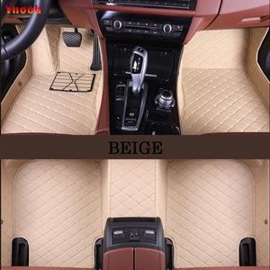 Image 5 - Ynooh Auto Vloermatten Voor Hyundai Santa Fe 2007 Fe 2011 Solaris 2017 Elantra I30 I40 I10 I20 2010 2013 accent 2008 Getz Creta Tuc