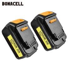 Bonacell Voor Dewalt 18V 6000Mah Batterij Power Tools Batterijen Vervanging Max Xr DCB181 DCB182 DCD780 DCD785 DCD795 L70