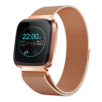 Men women fashion smart watch Q3 Plus IP68 waterproof watches heart rate blood pressure information reminder tracker for xiaomi