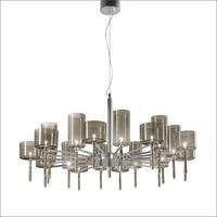Spillray 20 Chandelier Light SP20 By Manuel Vivian By AXO Light Dining Room Restaurant Glass Pendant