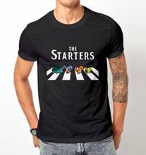 f3438400a The starter Pokemon t shirt men & women Pikachu Charmander Road to Abey  Gift casual printed tee USA plus size XS-3xl