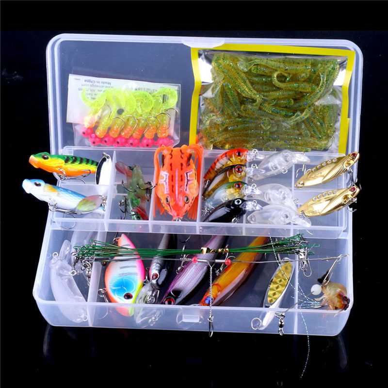 90Pcs Fishing Lure Lead Jig Head Hook Grub Worm Baits fishing Mixed Simulation Of metal/plastic/Soft Lures+Fishing Hooks Suit  fishing lure soft jig head hook 11cm 22g plomb jig head silicone bait isca artificial baits 3d augen soft plastic lures tackles