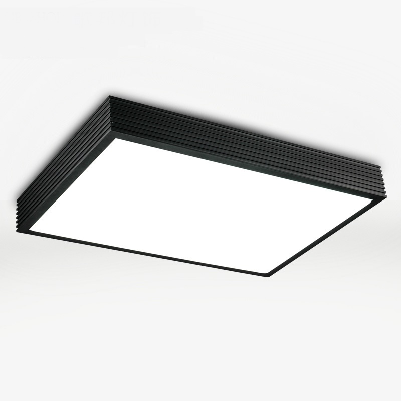 Modern office lighting rectangular bedroom modern minimalist living room lamp Ceiling lamp LED Aluminum Ceiling creative BG10 ceiling lighting minimalist modern balcony study bedroom lighting led intelligent atmospheric living room dining room
