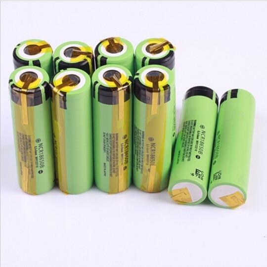 Baterias Recarregáveis guias de níquel para uso Capacidade Nominal : 3001-3500 MAH