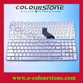 US laptop keyboard For HP DV7 DV7-1000 notebook Keyboard Series Silver US 500843-001