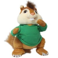Alvin And The Chipmunks 35CM Plush Toy Figure Pets Doll Chipmunks Theodore