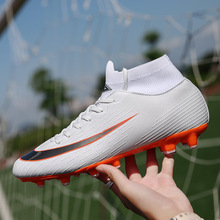 Soccer Boots Indoor Turf Futsal Sneakers TF & Long Spikes Men Shoes Soccer Cleats Original Football Sports Shoes for Women Men