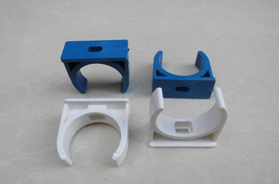 20pcs Pvc Pipe Line Pipe Fittings 50mm Universal Clamp Pipe Code Blue Pipe Clamp