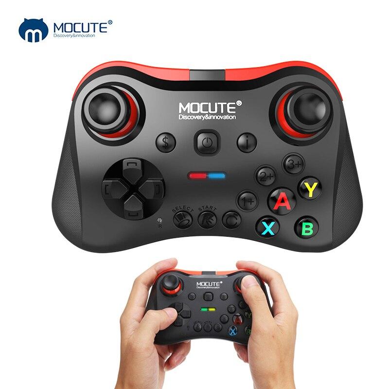 Mocute 056 Bluetooth Gamepad Android Sans Fil Joystick VR Contrôleur Joypad pour PUBG Mobile Smartphone Smart TV BOX PC