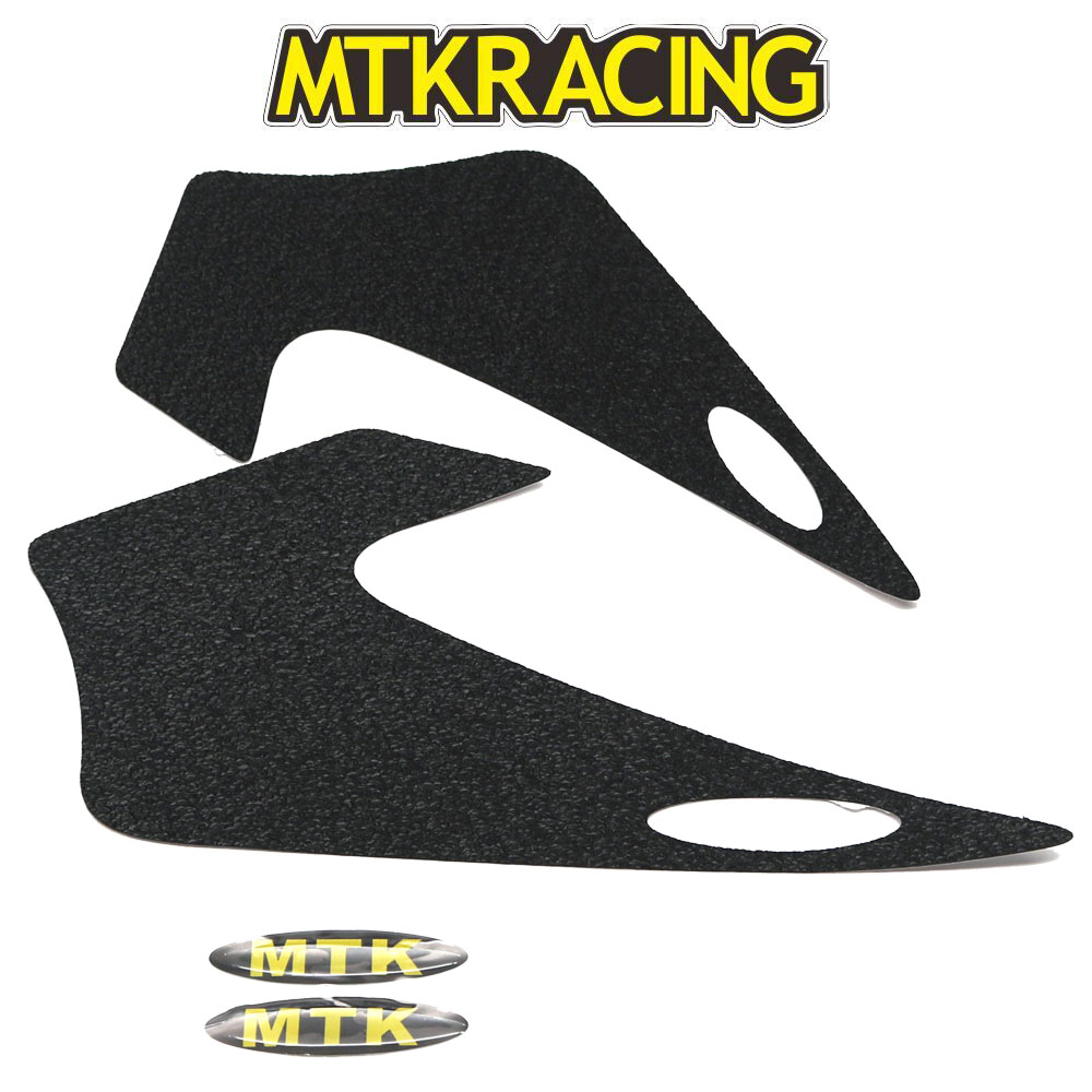 MTKRACING Motorcycle For Yamaha MT 07 MT07 MT 07 2014 2016 Knee Grip Tank Traction Pad Side Tank Pad Protector Sticker Decal Gas