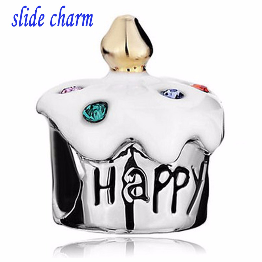 Miraculous Slide Charm Free Shipping Lucky Charm Color Crystal Birthday Cake Birthday Cards Printable Opercafe Filternl
