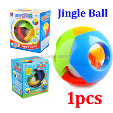 New Baby Toys large size 11CM  plasitc Rattles Grasping Bell Ball Sound Educational Toys Cheap Wholesale brinquedos