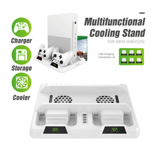 Oivo Cooling Verticale Stand Dual Controller Opladen Dock Station Voor Xbox Een Games Opslag Charger Voor Xbox One/S/X Console