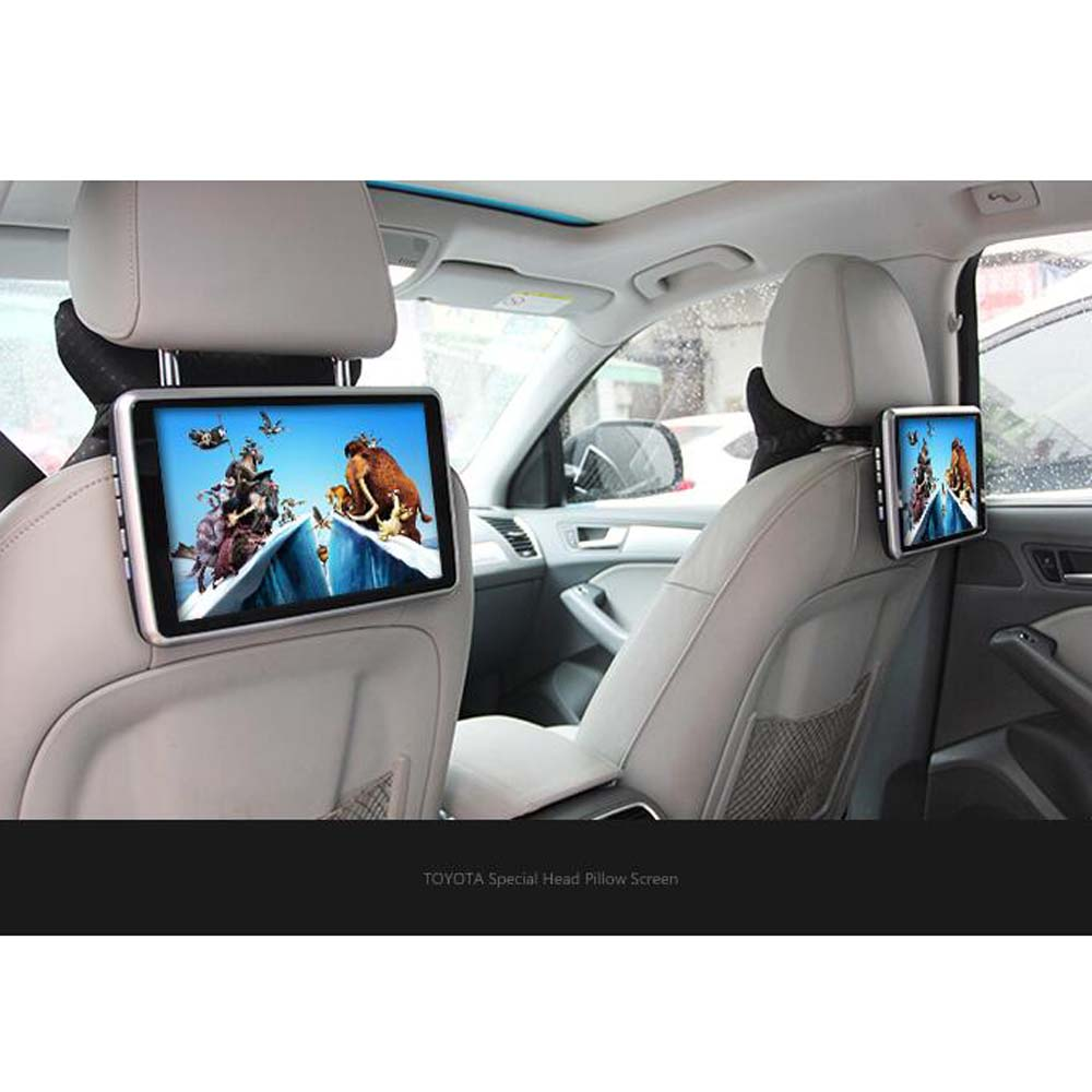 Best quality vehicle headrest dvd player 1920 1080 pixel android 6 0 for peugeot 308 408 508 3008 4008