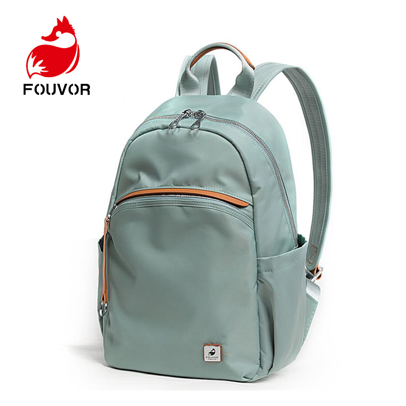 Fouvor Fashion Women Backpack Stundet Oxford Canvas Backpacks For Teenage Girls Female School Shoulder Bag Bagpack Mochila