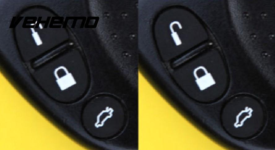 Vehemo новый черный Дистанционное управление без ключа Пуговицы для Chevy Holden Commodore WH