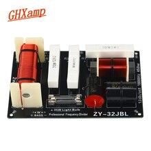 Alto falantes de crossover 450 khz, ghxamp 1.8 w, pinça baixo, divisor de 2 vias, 4 8ohm, alto falante de palco de dois sentidos, divisor de frequência 1 peça