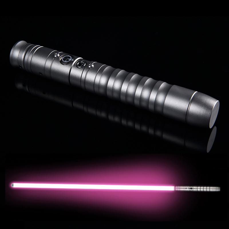LGT QYUNR Cosplay Lightsaber Luke skywalker Light Saber Jedi Sith Laser Force FX Heavy Dueling Loud