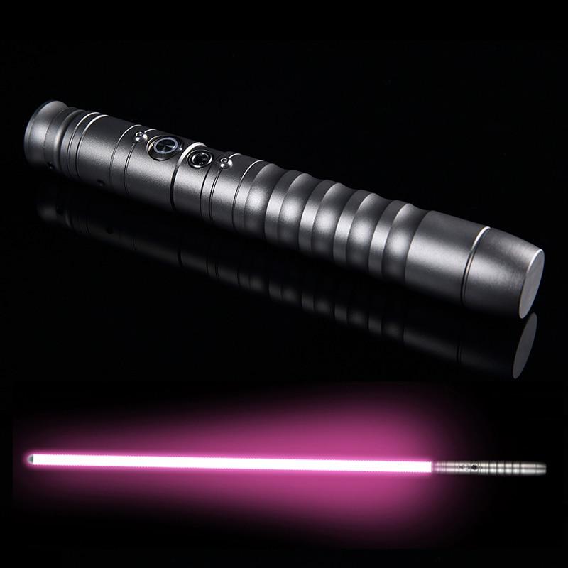 LGT Cosplay sable láser Luke skywalker sable de luz Jedi Sith láser fuerza FX pesado duelo fuerte sonido de alta luz con FOC