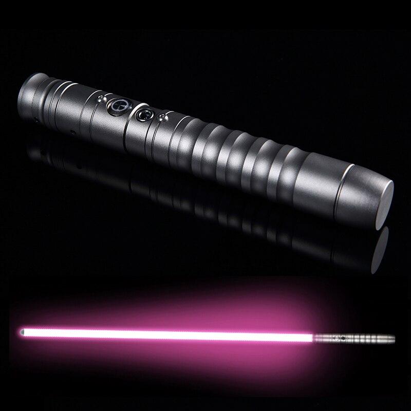 LGT-QYUNR Cosplay Lightsaber Luke Skywalker Light Saber Jedi Sith Laser Force FX Heavy Dueling Loud Sound High Light With FOC